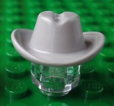 LEGO® grey minifigure COWBOY HAT (wild west vintage old town 1970 1980s train)