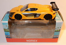 2016 NOREV JET CAR RENAULT SPORT RS01 JAUNE 1/43 IN BOX