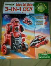 3-IN-1 GO! SOLAR &SALT WATER ROBOT RACER/ AMAZING TOYS LIMITED 2013