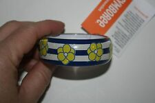 New Gymboree Striped Flower Bangle Bracelet NWT Pocketful of Sunshine Line