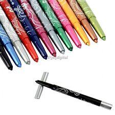 12 Colore Glitter Ombretto Matita labbra Eyeliner Penna Cosmetici Make Up Set
