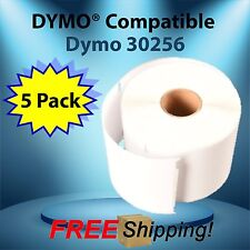 5 Rolls 30256 Dymo®  Compatible Thermal Label 300 Labels Per Roll