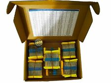110value 1/2W Metal Film Resistor 1100pcs Box Kit
