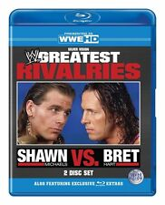 Shawn Michaels vs Bret Hart - WWE's Greatest Rivalries (Blu-ray, 2011, 2-Disc...