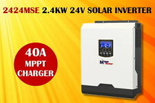 (MSE) 2400w 24v off grid solar power inverter charger MPPT solar charger 40A