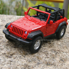 Jeep Wrangler 2007 Rubicon 1:32 Toy New Alloy Diecast Car Model Sound&Light Red
