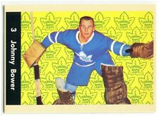1993-94 Parkhurst Parkie Reprints Case Inserts 8 Johnny Bower 1961-62