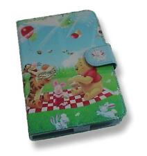 Cartoon Bear Pattern Motif PU Flip Travel Carry Case Book Cover for Nexus 7