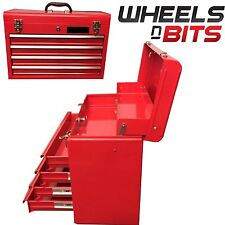 NEW Tool Box Metal Mobile Top Chest Storage Cabinet Handle 4 Drawer Workshop 22""