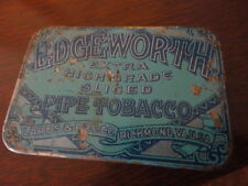 EDGEWORTH LARUS & BRO. CO. EXTRA HIGH GRADE SLICED PIPE TOBACCO TIN Vintage