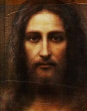 Jesus Christ from Shroud at Turin. Image on Fine Canvas from Photo Art Studio UK