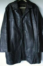 Wilsons Leather Jacket Large Pelle Studio Black Thinsulate Lining Coat Mens