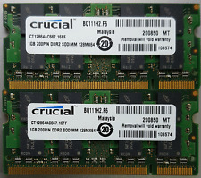Crucial 2GB PC2-5300S DDR2 SODIMM