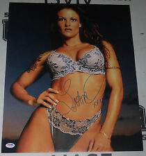 Lita Signed WWE 16x20 Photo PSA/DNA COA Pro Wrestling Diva Picture Autograph WWF