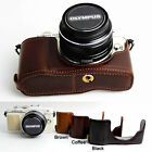 Leather Protect Half Case Grip for OLYMPUS Pen E-PL7 EPL7
