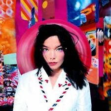 Bjork POST +MP3s LIMITED EDITION New Sealed PINK COLORED VINYL LP
