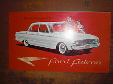 Prospekt Sales Brochure Ford Falcon 1959 Sports-car Auto Car автомобиль