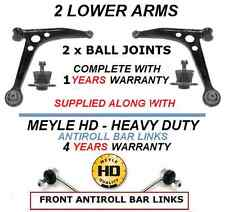 FOR SEAT ALHAMBRA 2 FRONT LOWER WISHBONE CONTROL ARM ARMS BALL JOINTS + HD LINKS