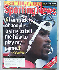 2006 SPORTING NEWS MICHAEL VICK FALCONS EAGLES