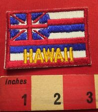 HAWAII ISLANDS STATE FLAG ~ Vintage But Poorly Stitched 66WB