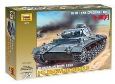 Zvezda 3571 Pz.Kpfw. III Ausf. F German Panzer 1/35
