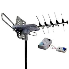 SUPER ACTIVE & ROTATING ANTENNA HDTV FREE OVER THE AIR TV (OUTDOOR / ATTIC) T.V.