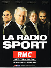PUBLICITE ADVERTISING 114  2014  RMC  radio  la radio sport