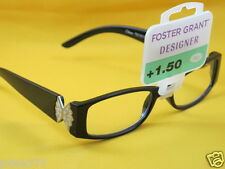 NWT $15 FOSTER GRANT DESIGNER WOMEN'S READING EYEGLASSES-1.50