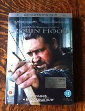 Robin Hood DVD - Russell Crowe, Cate Blanchett - Ridley Scott Directors Cut DVD