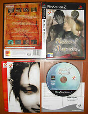 Shadow of Memories, Komani, PlayStation 2 PS2 PStwo, Pal-España ¡¡COMPLETO!!
