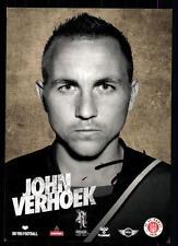 John verhoek autographe carte FC st pauli 2013-14 original signée + a 98025