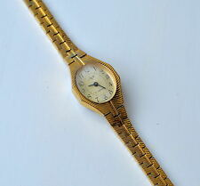 Luch ladies gold plated mechanical vintage watch (Soviet Union)