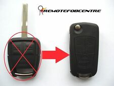3 BUTTON FLIP KEY CASE UPGRADE FOR VAUXHALL OPEL VECTRA SIGNUM ZAFIRA REMOTE KEY