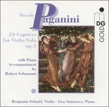 Nicolo Paganini: 24 Caprices for Violin Solo, Op. 1 CD NEW