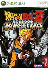 Dragon Ball Z: Burst Limit (Microsoft Xbox 360, 2008) GOOD