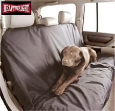 BLACK HEAVY WEIGHT DUTY BACK REAR SEAT COVER PROTECTOR nylon dog pet CITROEN C4