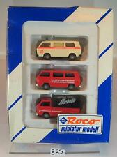 Roco 1/87 No.2734 Set 3 x Volkswagen VW T3 Friedensdorf International OVP #825