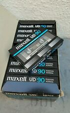 MAXELL UD 90 ( x12) : 1982-84 : Japan : NEW & SEALED