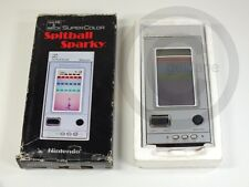 !!! Nintendo Game & Watch Super color Spitball Sparky hand held rar top!!!
