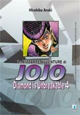 LE BIZZARRE AVVENTURE DI JOJO - DIAMOND IS UNBREAKABLE 4 DI 12 STAR COMICS NUOVO