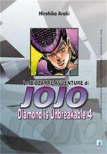 LE BIZZARRE AVVENTURE DI JOJO - DIAMOND IS UNBREAKABLE 4 DI 12 STAR COMICS NUOVO