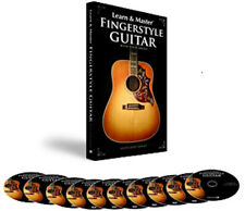 HAL LEONARD LEARN AND & MASTER FINGERSTYLE GUITAR W/ STEVE KRENZ  9 DVD + 1 CD
