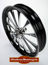 Southern Black Legend Front 23X3.75 Custom Wheel Harley Touring Dual W/ ABS