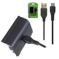 2400mAh Rechargeable Replacement Battery Pack for XBOX ONE Controller +Cable