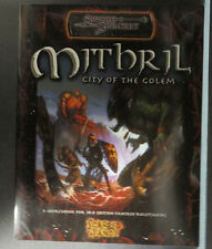 SWORD SORCERY MITHRIL CITY OF THE GOLEM SOURCEBOOK 3RD ED FANTASY WW8321