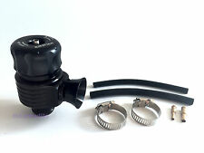 25MM ADJUSTABLE TURBO DUMP / BLOW OFF / WASTEGATE VALVE BOV - FLUTED - BLACK