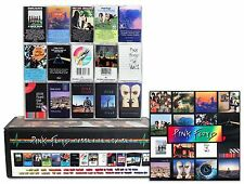 PINK FLOYD custom 15 cassette box set lot + 16 album cover magnet pack!