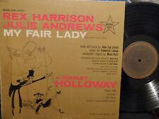 My Fair Lady Soundtrack LP Julie Andrews REX HARRISON VG+ Condition