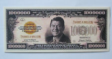 Ronald Reagan One Million Dollar Collectible Bill UNC