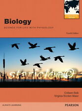 NEW 3 Days US / CA Biology Science For Life With Physiology 4E Belk 4th Edition